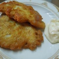 Куриное филе в сырном кляре шаг 8