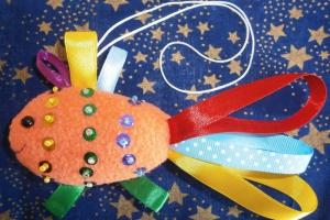 Декоративная игрушка «Золотая рыбка»