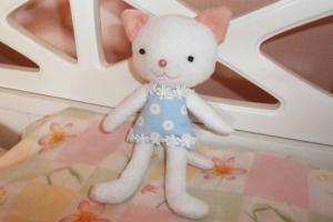 Платье для мягкой игрушки своими руками