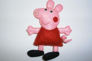 Игрушка из фетра «Свинка Пеппа»
