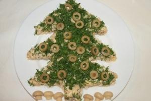 Леший салат рецепт