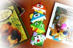 """Закладки для книг """"Смешные рожицы"""""""