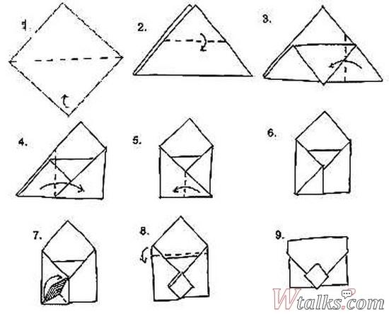 Как сделать конверт пошагово