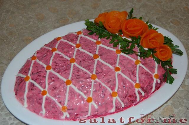 Красивые салаты рецепты с фото оформление