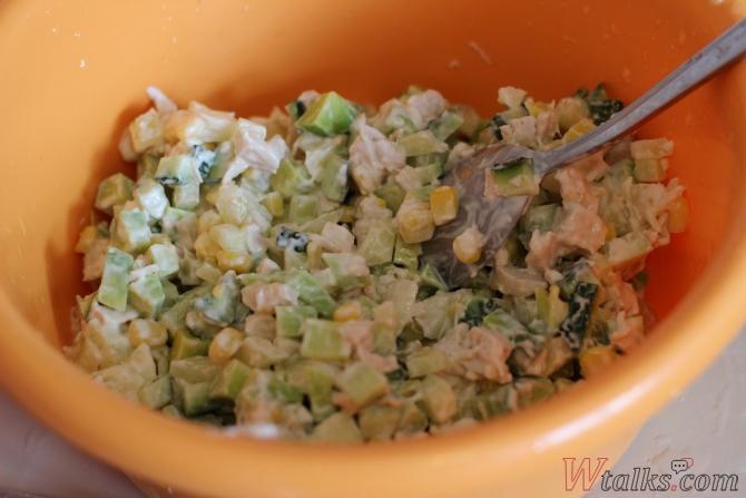 Салаты с авокадо и кукурузой рецепты 78