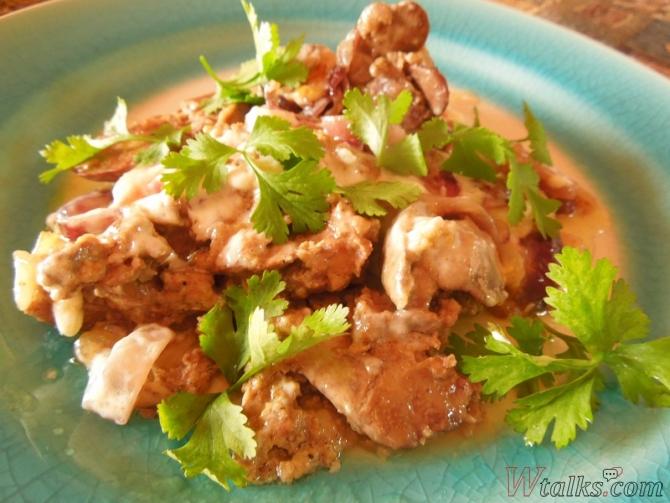 Куриная печень в сметане в мультиварке рецепты с пошагово
