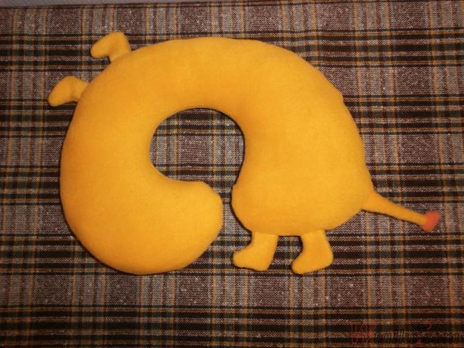 Удобная подушка «Лев» шаг 10