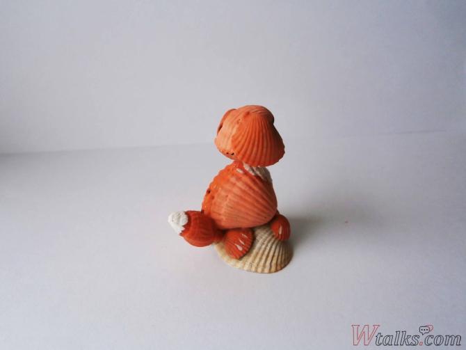 Сувенир из ракушек «Собачка» шаг 9