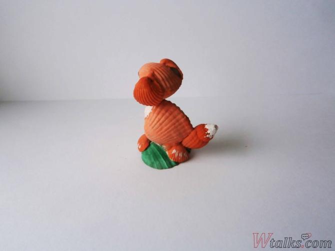 Сувенир из ракушек «Собачка» шаг 10