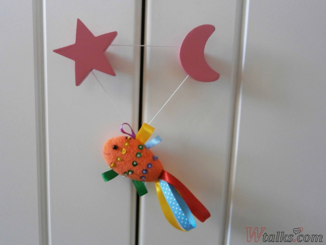 Декоративная игрушка «Золотая рыбка» шаг 12