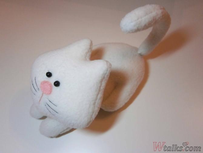 Белый кот шаг 13