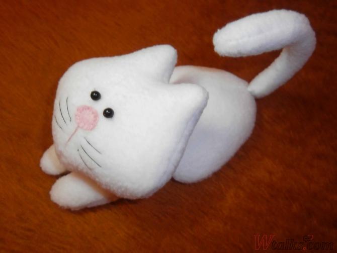 Белый кот шаг 14