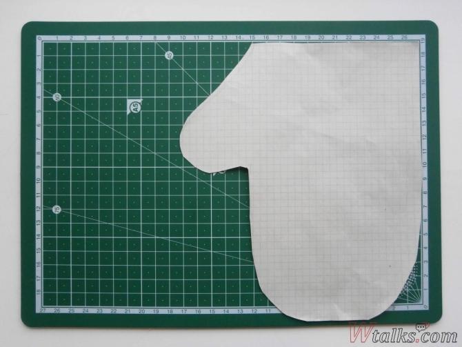 Как сделать рукавицу из бумаги