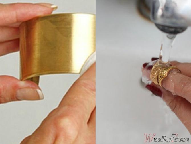 Чистка золота в домашних условиях нашатырным спиртом перекисью водорода