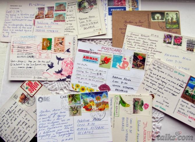 Сайты для обмена открытками