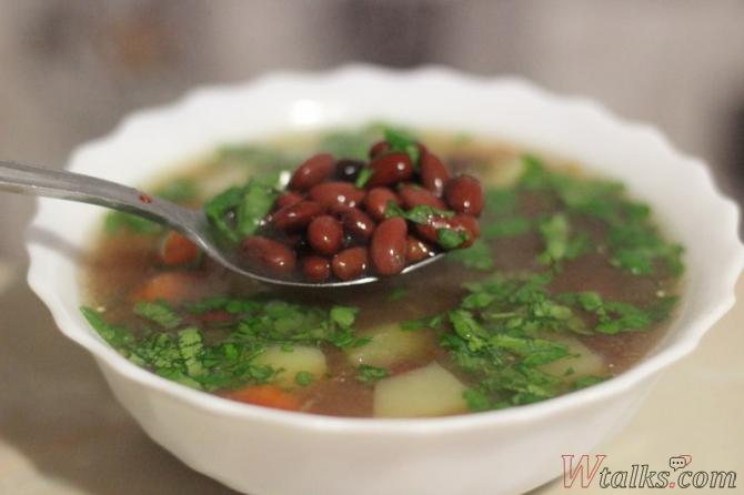 Рецепт с консервированной фасолью с пошаговым
