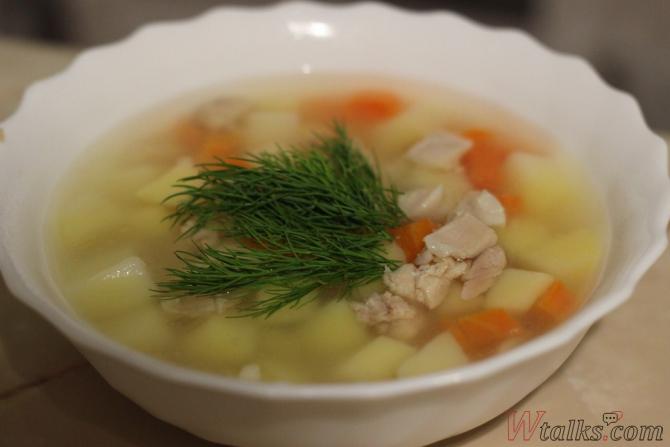 как приготовить суп из кролика кролика