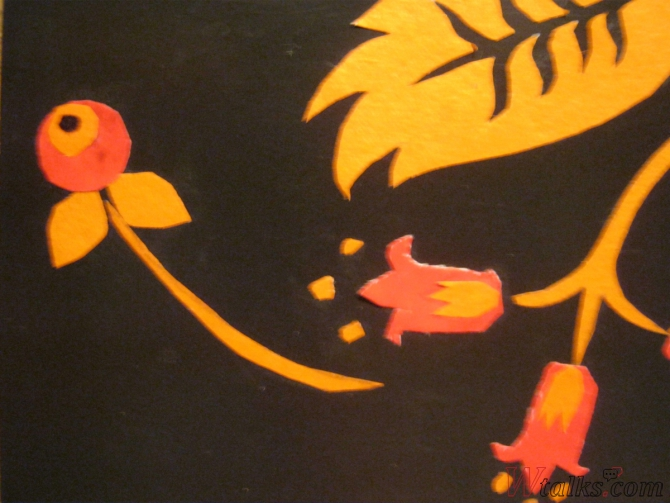 Волшебный цветок шаг 24