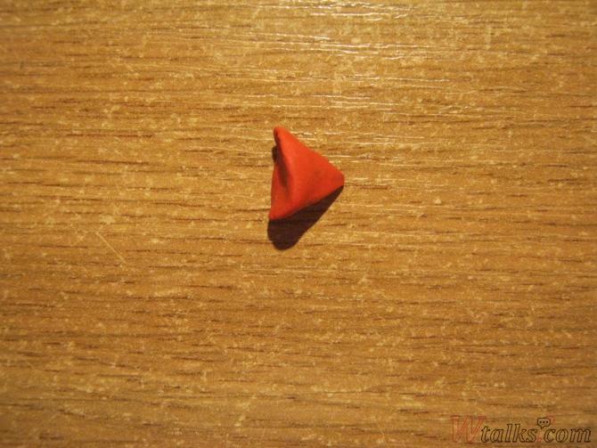 Страус из пластилина шаг 2