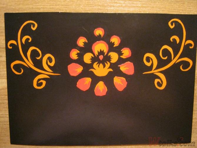 Волшебный цветок шаг 8