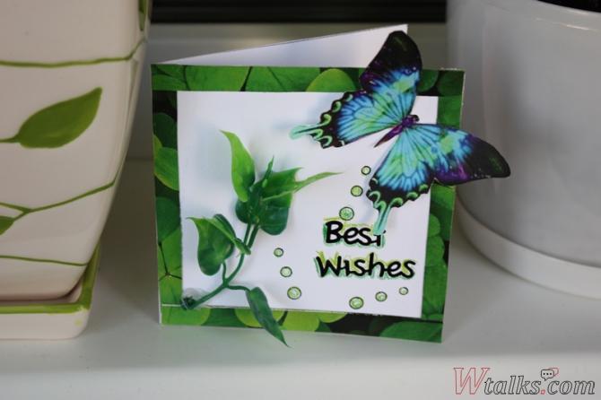 Открытки с бабочками своими руками мастер класс 68