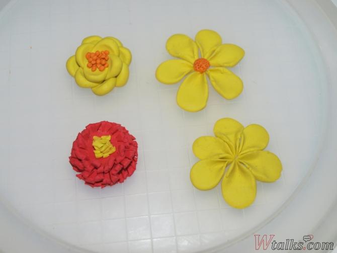 Лепка из пластилина с детьми: цветы шаг 8