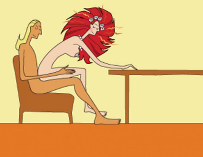 Позы в сексе в которых женщины активны