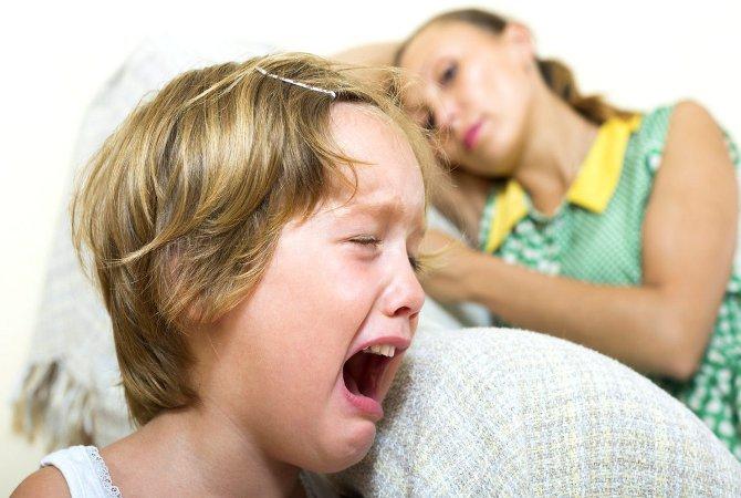 Дочь 7 лет все время плачет