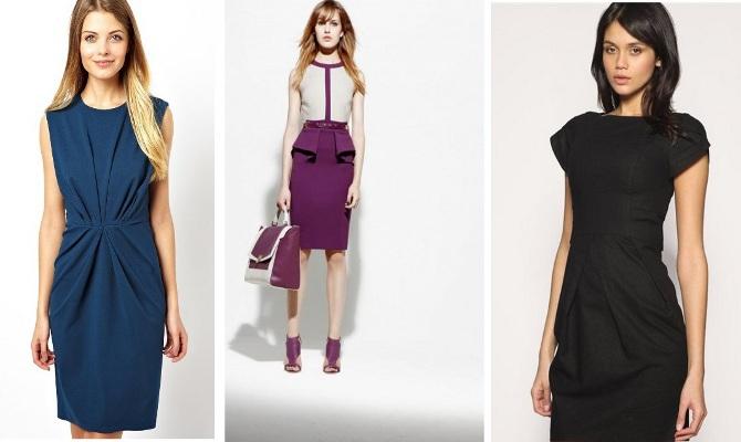 Платья скрывающие живот стильные