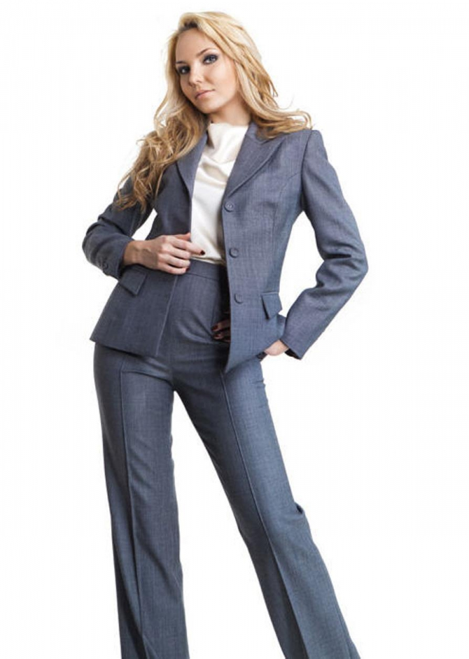 Модный деловой костюм купить