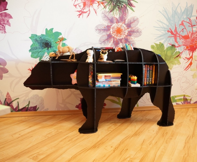 Как сделать полку медведя