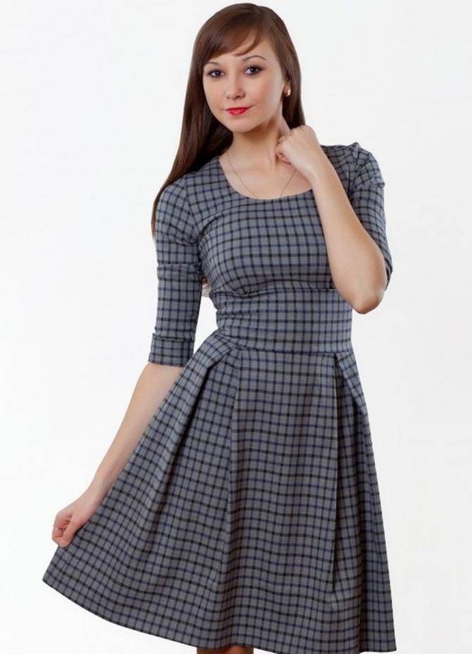 Школьное платье своими руками быстро