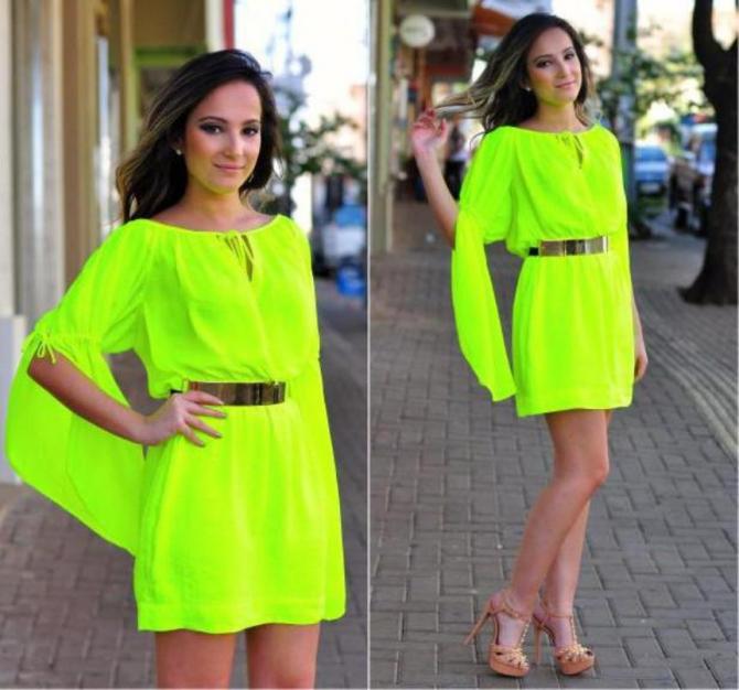 Салатовые платья фото