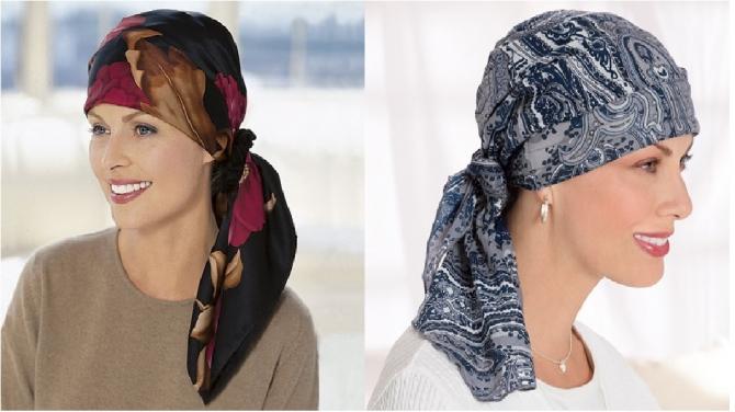 Как сделать платок на шапку 35