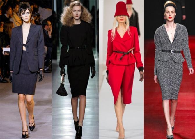 Модные Классические Женские Костюмы