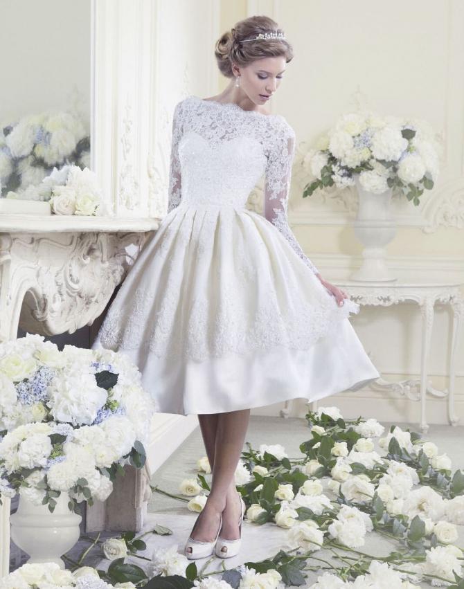 Свадебные платья <b>в</b> стиле ретро