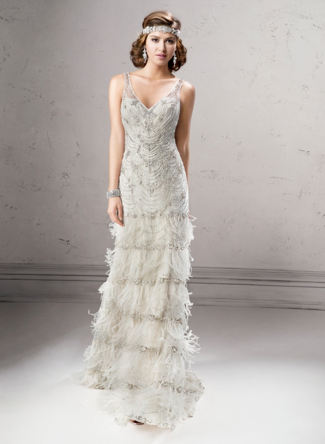 Свадебные платья в стиле ретро-фото