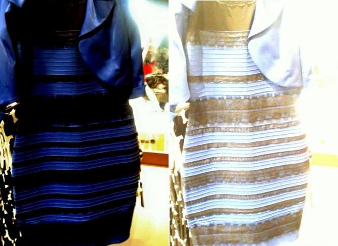 Какого цвета платье что за прикол фото
